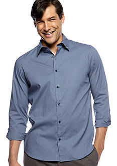 Calvin Klein Non-Iron Solid Stretch Shirt