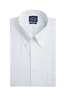 Eagle Shirtmakers Non Iron Slim Fit Pinpoint Dress Shirt