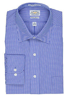 Eagle Shirtmakers Gingham Non-Iron Dress Shirt