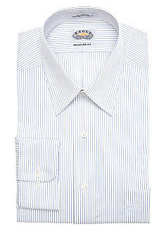 Eagle Shirtmakers Non-Iron Stripe Dress Shirt