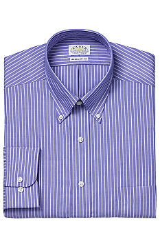 Eagle Shirtmakers Non-Iron Striped Dress Shirt