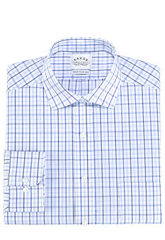 Eagle Shirtmakers Non-Iron Check Dress Shirt