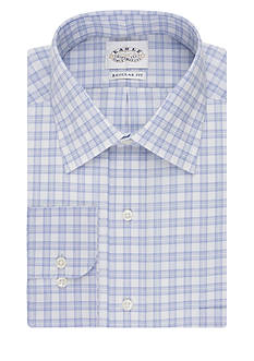 Eagle Shirtmakers Classic Fit Non Iron Check Dress Shirt