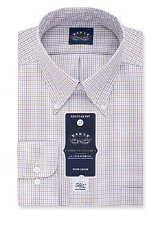 Eagle Shirtmakers Non-Iron Regular Fit Stretch Collar Dress Shirt