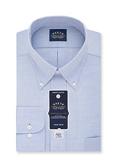 Eagle Shirtmakers Non Iron Regular Fit Stretch Collar Solid Dress Shirt