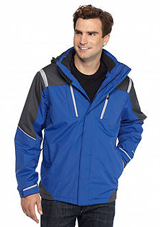 WEATHERPROOF&reg: 32 Degrees Hydro-Tech Twill Tech Active Hooded Jacket