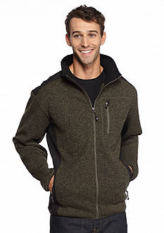 WEATHERPROOF&reg: 32 Degrees Marled Knit Full-Zip Jacket