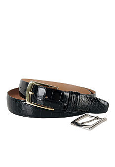 Trafalgar Genuine American Alligator Belt