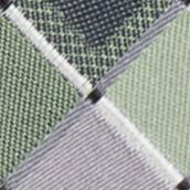 Young Men: Madison Accessories: Green Madison San Jose Square Tie