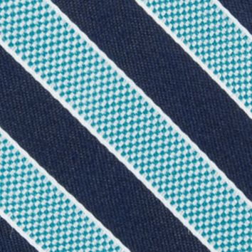 Nautica: Turquoise Nautica Blue Sky Bengal Tie