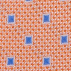 Nautica Mens: Tangerine Nautica Pin Point Boxes Tie