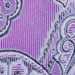 Nautica: Purple Nautica Drifting Paisley Tie