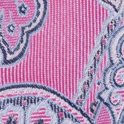 Men: Regular Sale: Bright Pink Nautica Drifting Paisley Tie