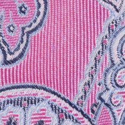 Nautica Mens: Bright Pink Nautica Drifting Paisley Tie