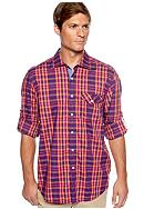 Tommy Bahama® Checking In Woven Shirt