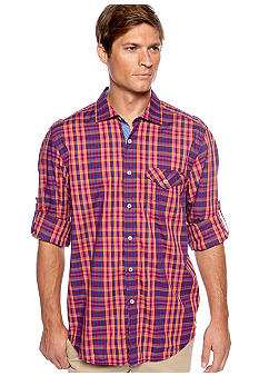 Tommy Bahama Checking In Woven Shirt