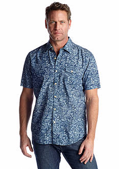 Tommy Bahama® Short Sleeve Paisley Heights Woven Shirt