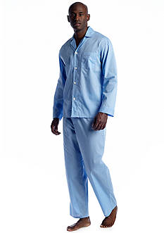Saddlebred Solid Long Sleeve Long Leg Pajama Set