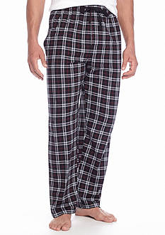 Saddlebred Large Plaid Knit Lounge Pants