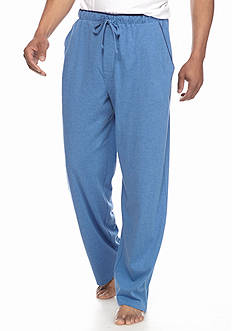 Saddlebred Jersey Knit Lounge Pants With Contrast Color Piping