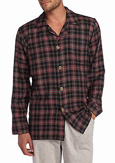 Saddlebred Flannel Lounge Shirt
