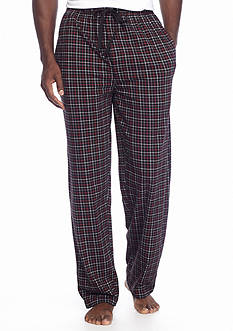Saddlebred Knit Mini Grid Lounge Pants