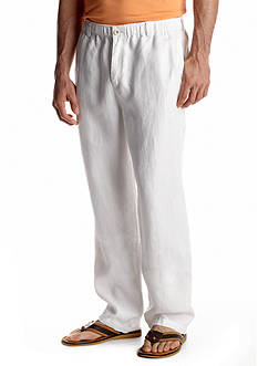 Tommy Bahama Big & Tall Loose Fit New Linen On The Beach Flat Front Pants