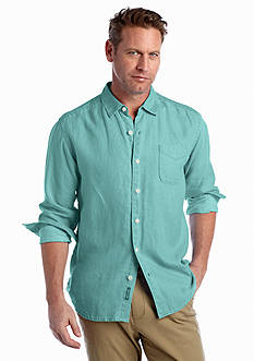 Tommy Bahama Big & Tall Sea Glass Breezer Long Sleeve Shirt
