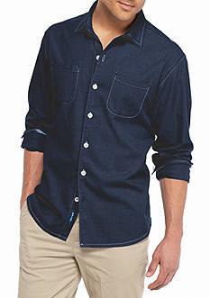 Tommy Bahama Big & Tall New Seaside Flannel Shirt