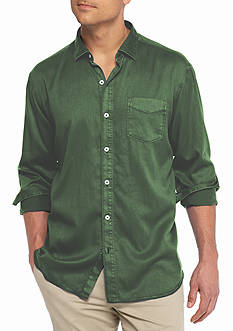 Tommy Bahama Big & Tall Still Twillin Long Sleeve Shirt