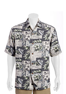 Tommy Bahama Big & Tall Plumeria Patchwork Shirt
