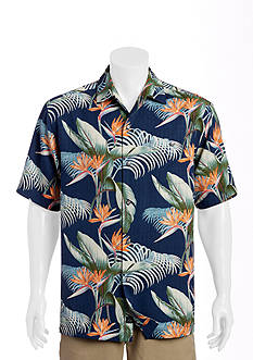 Tommy Bahama Big & Tall Cool, Palm and Collected Woven Shirt