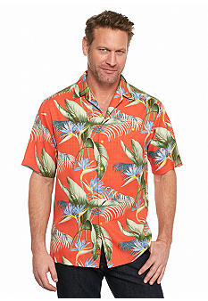 Tommy bahama big tall cool palm and collected woven for Big and tall cool shirts