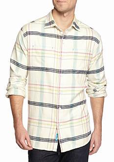 Tommy Bahama Big & Tall Sun & Sea Flannel Shirt