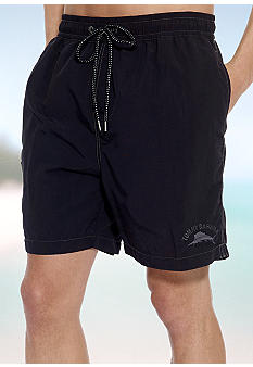 Tommy Bahama Big & Tall Happy Go Cargo Swim Trunks