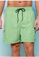 Tommy Bahama® Big & Tall Happy Go Cargo Swim Trunks