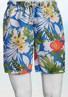 Tommy Bahama Big & Tall Naples Bastille Blooms Swim Trunks