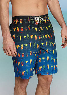 Tommy Bahama Big & Tall Baja Happy Hour Board Shorts