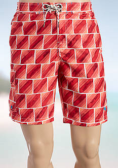 Tommy Bahama Big & Tall Baja Hit The Bricks Board Shorts