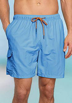 Tommy Bahama Big & Tall Naples Happy Go Cargo Swim Trunks