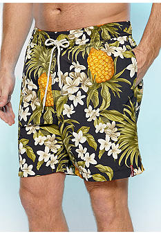 Tommy Bahama Big & Tall Pine & Dine Swim Trunks