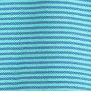 Men: Tommy Bahama Polo Shirts: Bravo Blue Tommy Bahama Emfielder Stripe Polo Shirt