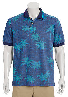 Tommy Bahama Palm Three Printed Polo Shirt