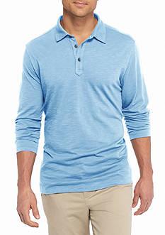 Tommy Bahama Long Sleeve Portside Player Spectator Polo Shirt