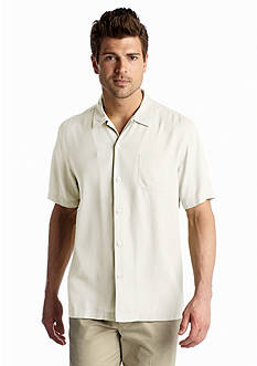 Tommy Bahama Short Sleeve Island Modern Fit Hamilton Camp Shirt