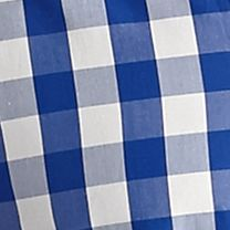 Men: Tommy Bahama Casual Shirts: Hawaiian Blue Tommy Bahama Long Sleeve Paradise Island Gingham Woven Shirt