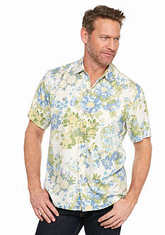 Tommy Bahama Short Sleeve Yarra Valley Floral Woven Shirt