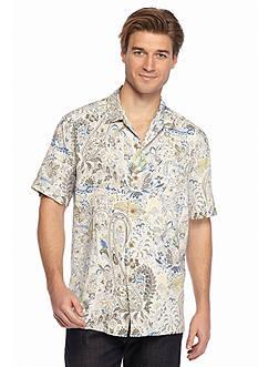 Tommy Bahama Short Sleeve Palais Paisley Woven Shirt