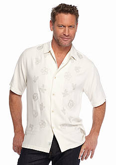 Tommy Bahama Short Sleeve Island Trails Woven Shirt
