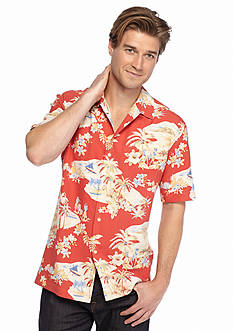 Tommy Bahama Short Sleeve Lazy Luau Woven Shirt